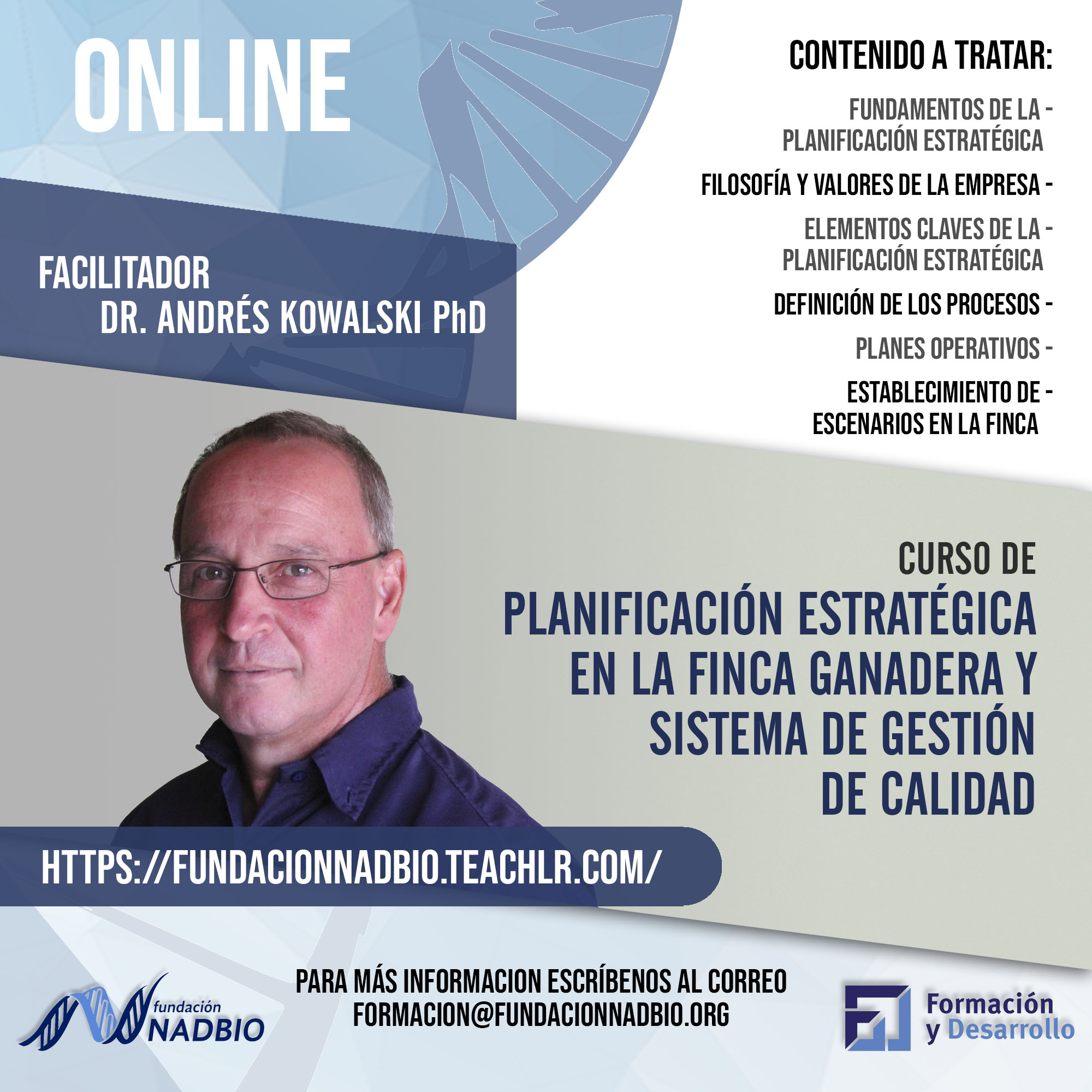 PLANIFICACION ESTRATEGICA EN LA FINCA GANADERA Y SISTEMA DE GESTION DE CALIDAD