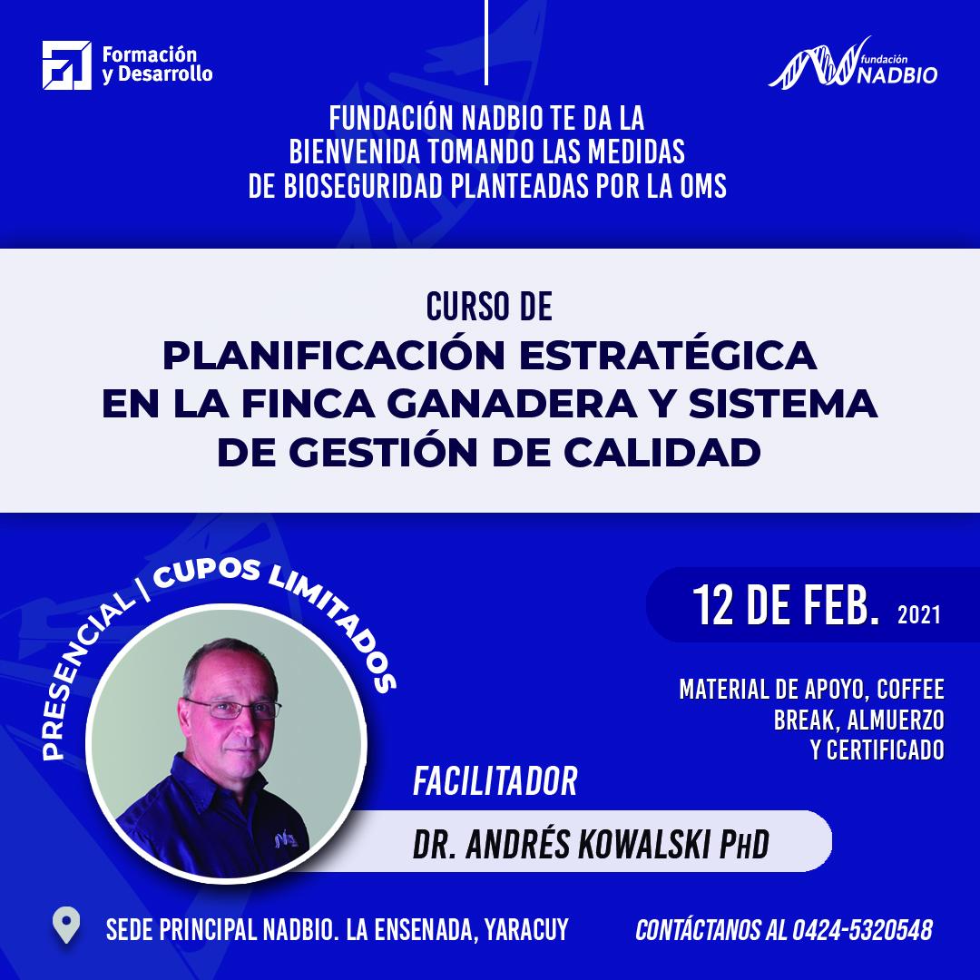 PLANIFICACION ESTRATEGICA EN LA FINCA GANADERA 2021